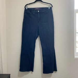 NYDJ Not Your Daughters Jeans Dark Denim Jeans Size 14W